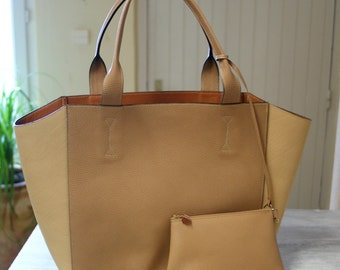 Bag Tote Leather - sale 50%