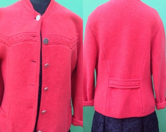 Sale 50%. Tyrolean wool jacket