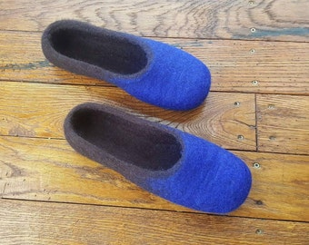 Felted slippers, wool slippers , home shoes, eco friendly, felted clogs, felt slippers, warm slippers