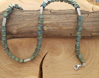 Green Hematite necklace