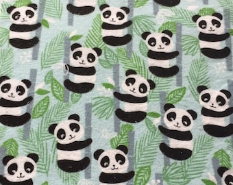 CLEARANCE Panda Print Unpaper towels, Reusable Kitchen Towels, Snapkins, Eco-Friendly Living, Paper Towel Alternative, Great Gift Idea