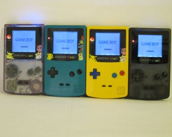 Frontlit, 12 Colors: Customize Your Own Modded GBC!