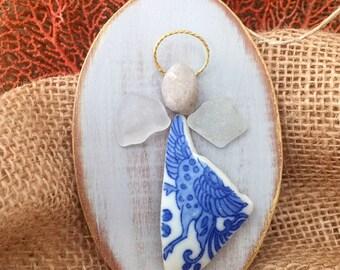 Beachcomber angel ornament