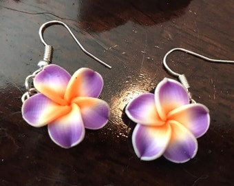 Plumeria Earrings