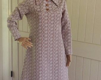 Vintage  Retro 70 dress .
