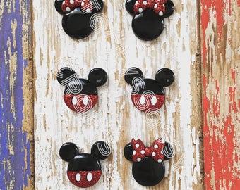DISNEY Earrings- Minnie, Mickey Earrings, Hypoallergenic Earrings