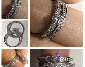 You Fancy Crystal Ring Set