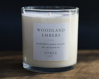 Woodland Embers Soy Wax Candle