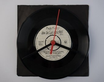 """Pink Floyd - 'When The Tigers Broke Free' 7"""" Record Clock"""