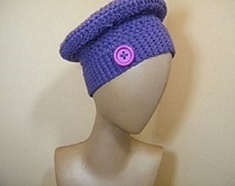 Ladies knit hat/crochet