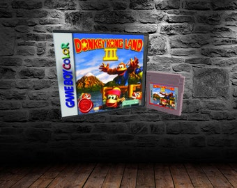 Donkey Kong Land 3 - Swing into action in Color - GBC - English Translation