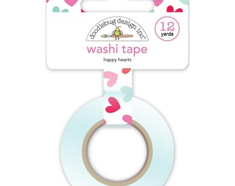 Doodlebug HAPPY HEARTS Washi Tape Sweet Things