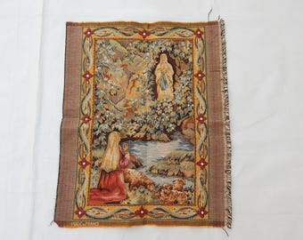Vintage French Beautiful  Tapestry (245)