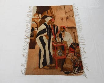 Vintag French Madieval Tapestry (287)