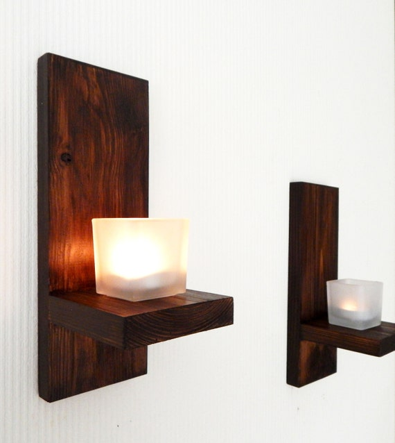 Modern Wall Mount Tea Light Candle Holder Candle Holder