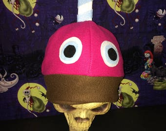 Chicka's Cupcake Freddy Bear Inspired Costume Hat Top Hat FNAF