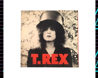 T. Rex - The Slider LP Record, 1972 Vintage Vinyl Record Album,  Classic Rock, Glam
