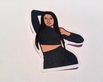 Nicki Minaj PAPER Sticker, Magnet & Keyring