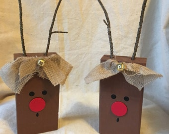 Wood Reindeer, Wooden Reindeer