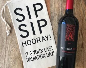 Last Radiation Day - Wine Bag