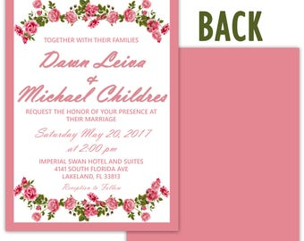 Wedding invites and Rsvp cards