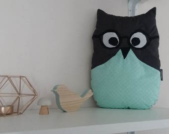 SALE Plush Pillow OWL Harry-20% with coupon code: SOLDESSUMMER20