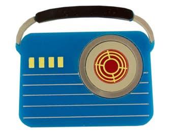 Radio Brooch