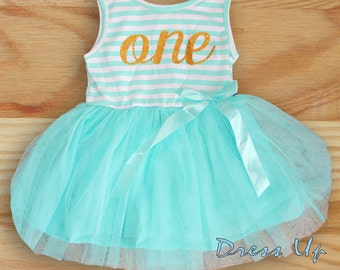 One Years Old Birthday Dress