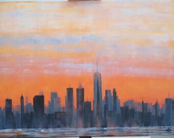 Manhattan, the night