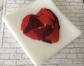 heart trinket plate