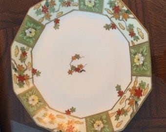 Hand-Painted Nippon decorative plate