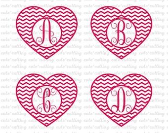 """Shop """"heart monogram font"""" in Scrapbooking Supplies"""