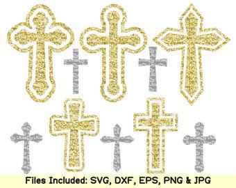 Christian cross svg files for Cricut Silhouette Svg design DXF CUT FILES Christian svg Cross clipart christian shirt print signs Vector File