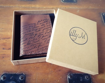Card wallet, Leather Gift