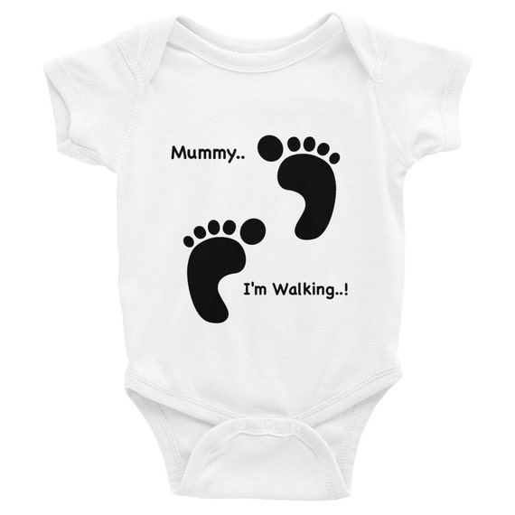 Bunny baby onesies   Funny Baby Onsies   Baby Bodysuit   Pregnancy Announcement Onesie   Baby Boy Onesie    Funny baby onesies, Cute Onesies
