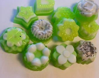 Key Lime Pie Tart Soaps