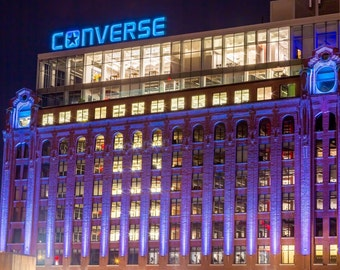 Converse Building Boston - Fine Art Metallic Print
