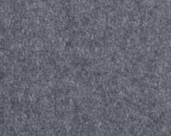 Wool felt dark grey article 7279