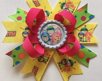 Team Umizoomi Hairbows- Team Umizoomi Bows- Team Umizoomi- Team Umizoomi Hairbow- Team Umizoomi Bow- Team Umizoomi Accessories- Hairbows-