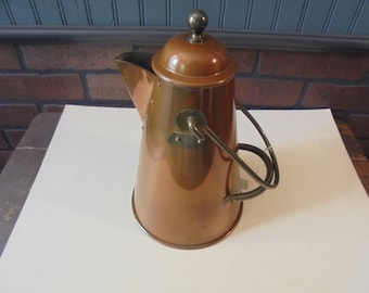 Vintage Unused Douro Hand Crafted B & M Provincial Server/Cowboy Coffee Pot
