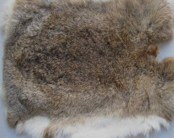 22cm * 32cm high quality pelt genuine rabbit fur raw material clothing accessories wholesale original rabbit real leather fur