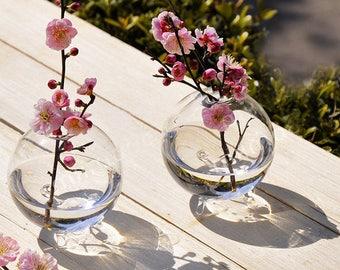 Clear Ball Glass Hanging Vase Bottle Terrarium Hydroponic Container Plant Pot Flower DIY Home Wedding Decor