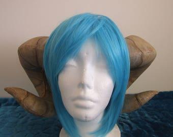 Ram horns demon satyr minataur curly horn cosplay headpiece foam