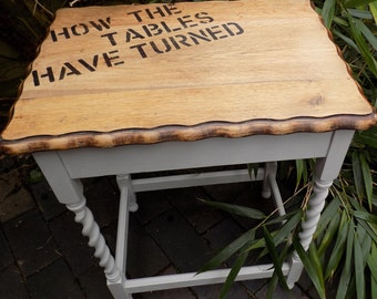 A Vintage Upcycled Table