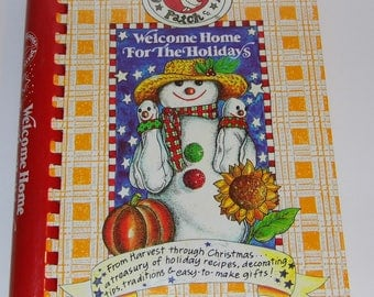 Goose Berry Patch Welcome Home for the Holidays - Harvest through Christmas - Cookbook - Hardcover - Priority Shipping!