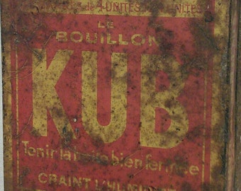 Box Kub screen-printed broth
