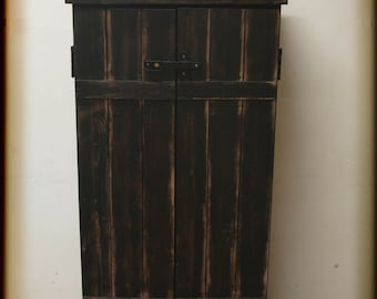 Great Shoe cabinet, vintage-style, chest of drawers