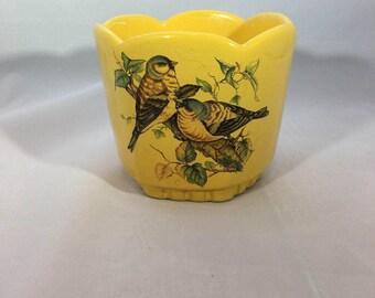 Frankoma 37 Bird Planter