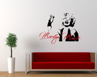 Marilyn Monroe Wall Decal Part 66