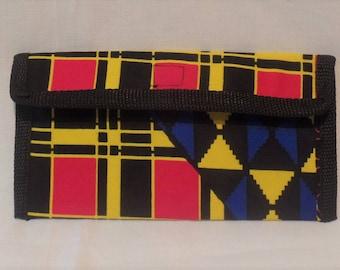 Ankara/African Print Slim Wallet from Ankara Boutique